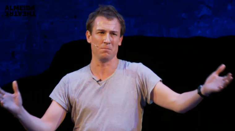 Tobias Menzies reading The Iliad