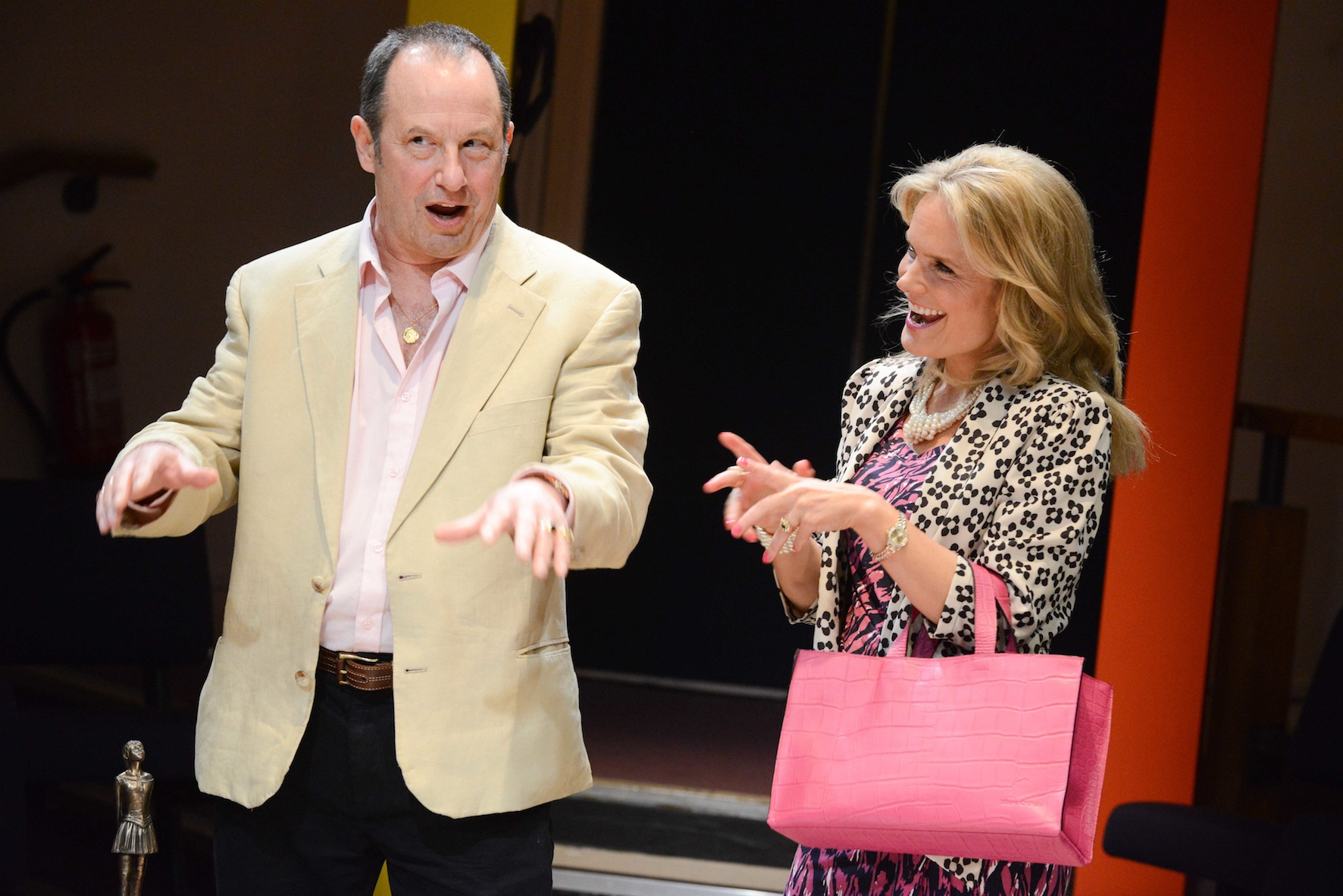 "John Bowler and Cate Debenham-Taylor as Bill and Pearl in ""It Just Stopped"""