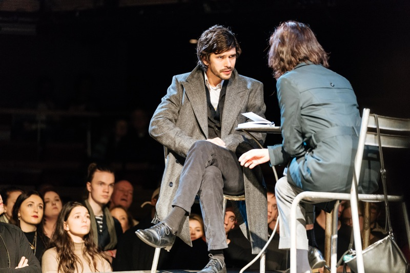 Ben Whishaw, Michelle Fairley, Julius Caesar, Bridge Theatre