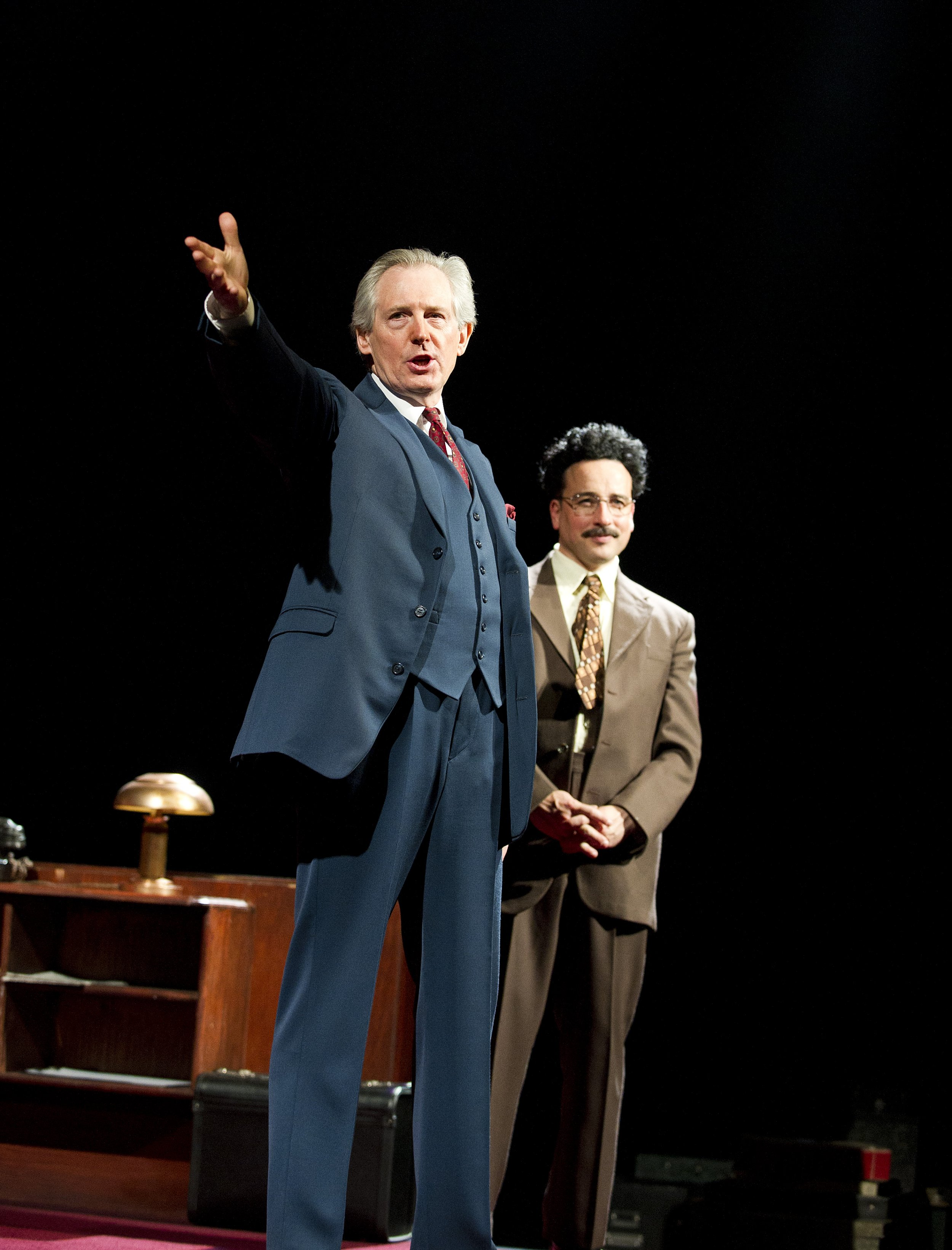 Patrick Drury as Willy Brandt, Aiden McArdle as Gunter Guillaume