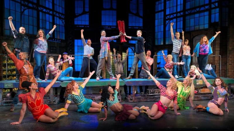 Kinky Boots original London cast.