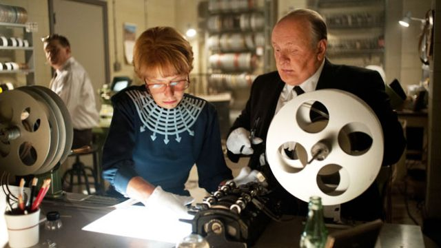 Helen Mirren and Anthony Hopkins in Hitchcock