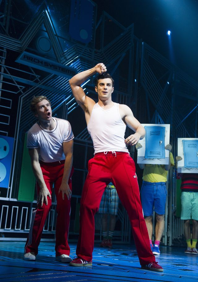 Stewart Clarke struts his stuff in Loserville the Musical