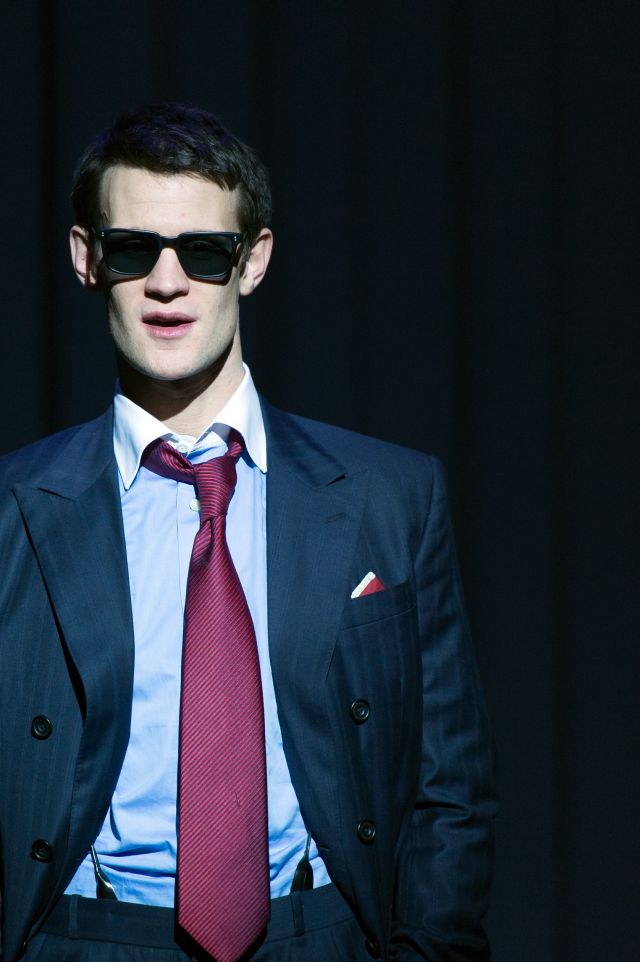 Matt Smith as Patrick Bateman