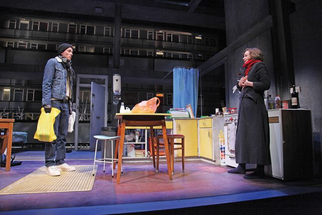 Matthew Beard and Carey Mulligan in Skylight