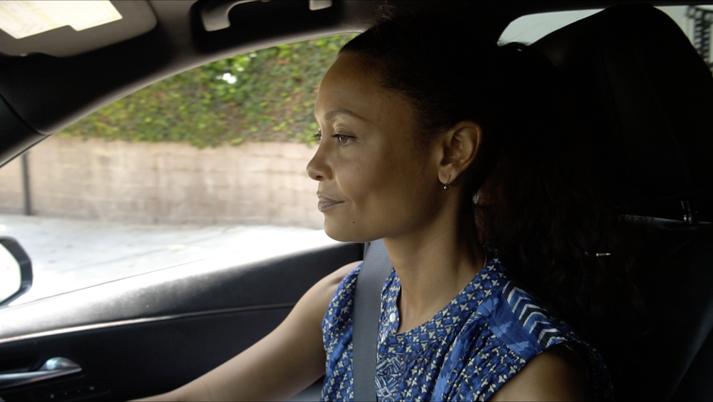 Thandie Newton narrates five chapters of this road movie through cinema
