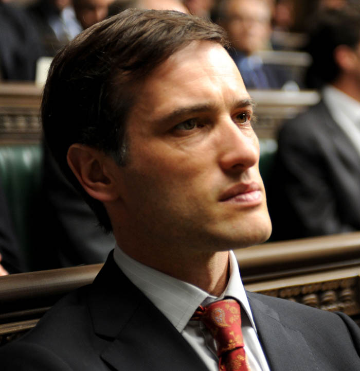 Ed Stoppard in The Politician's Husband