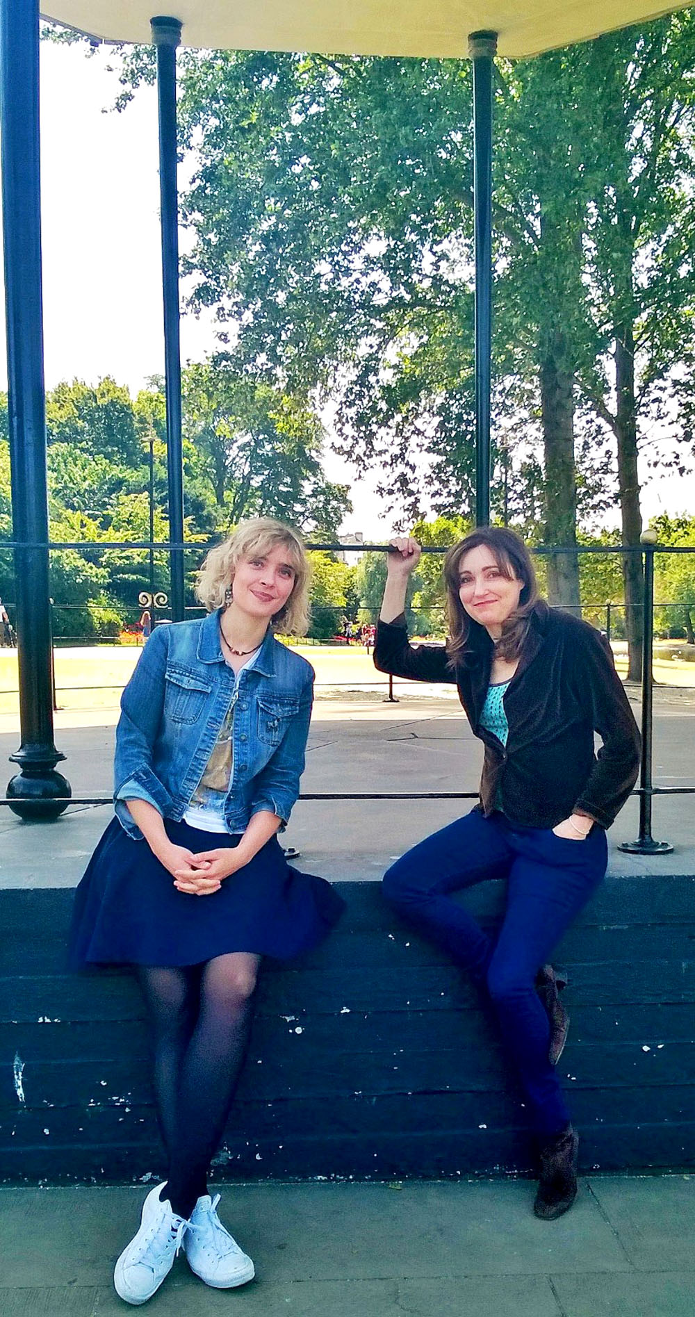 Kate Mossman and Viv Albertine in Girl in a Band