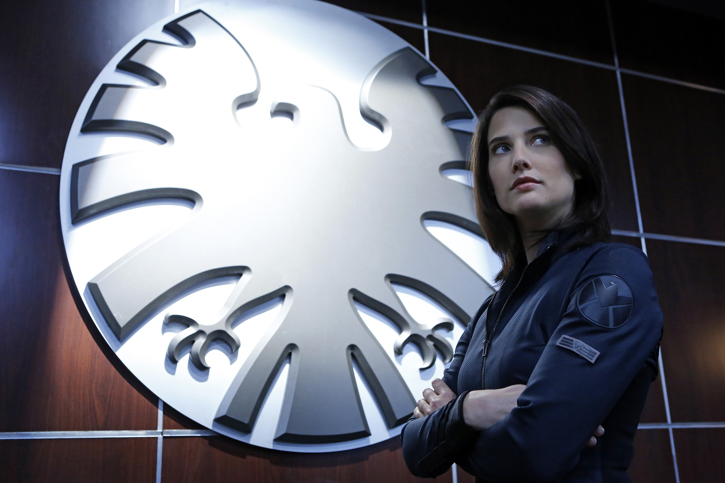 Cobie Smulders as Agent Maria Hill in Marvel's Agents of S.H.I.E.L.D.