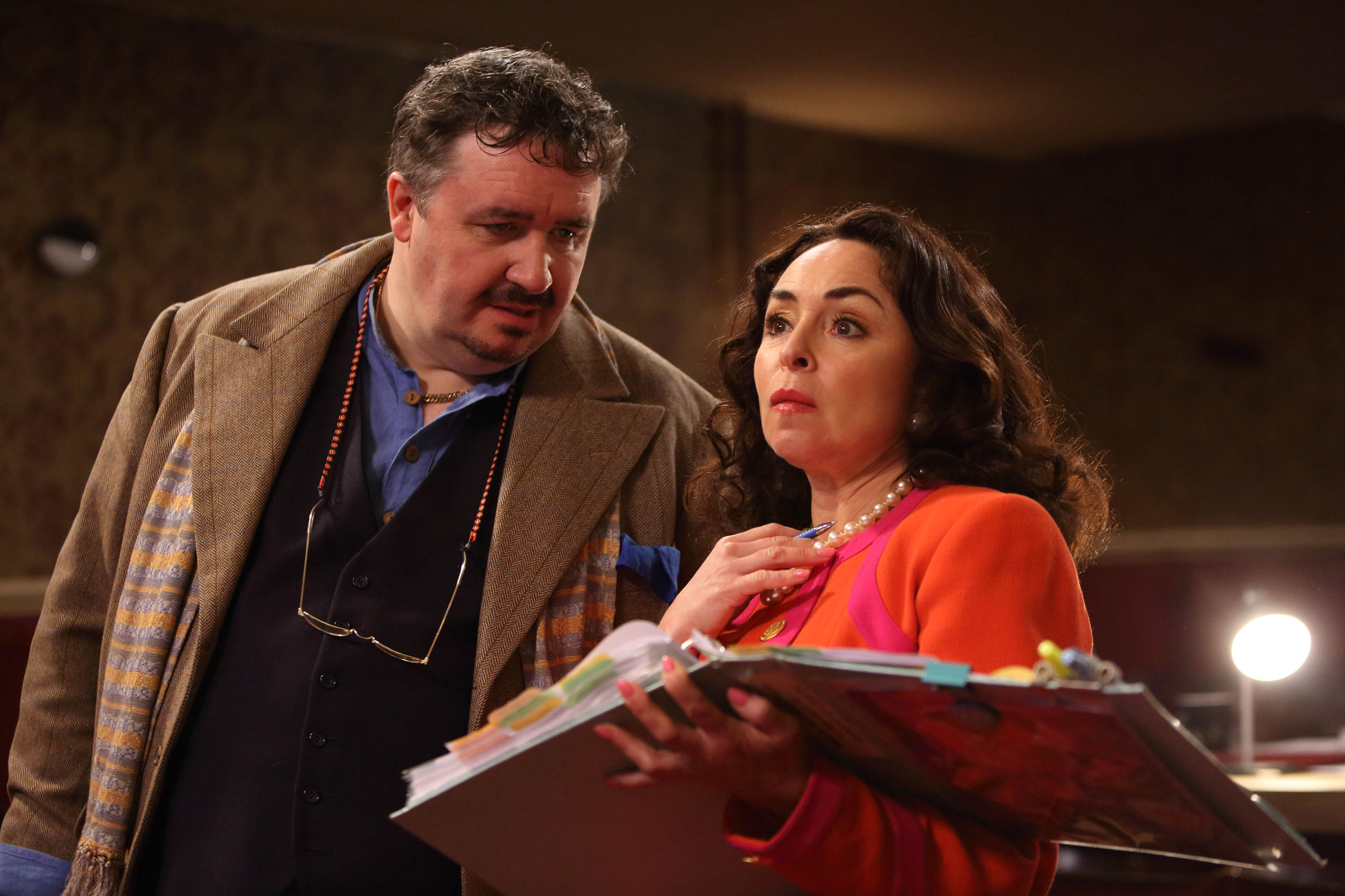 Mark Benton and Sam Spiro in Panto!