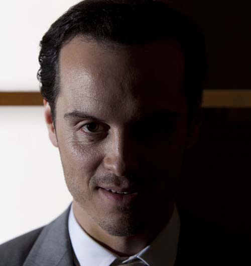 Andrew Scott as Mariarty in Sherlock