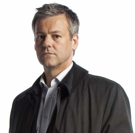 Rupert Graves as Lestrade in Sherlock