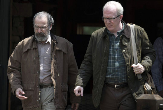 Tracy Letts and Mandy Patinkin in Homeland