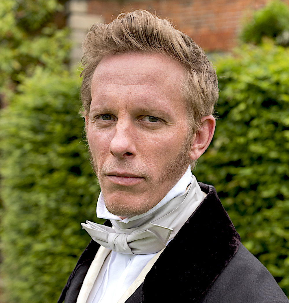 Laurence Fox as Palmerston in Victoria (ITV)