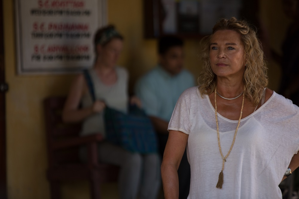 Amanda Redman in The Good Karma Hospital