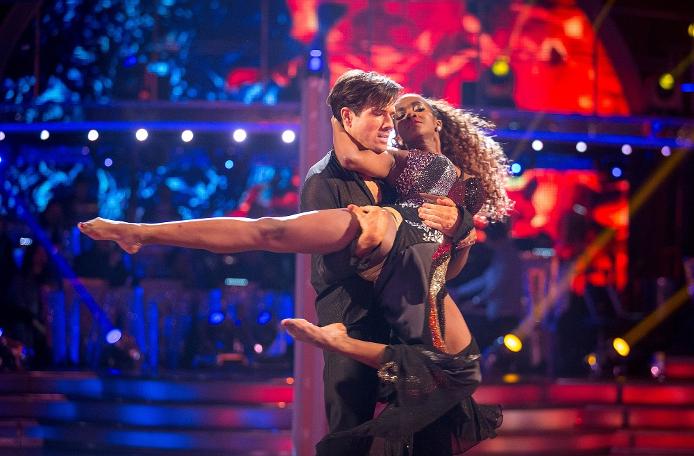 Danny Mac and Oti Mapuse perform in the final of Strictly Come Dancing 2016