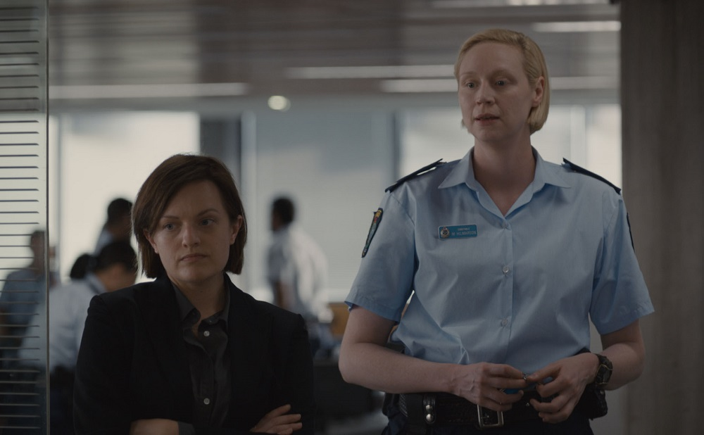 Elisabeth Moss and Gwendoline Christie in Top of the Lake: China Girl
