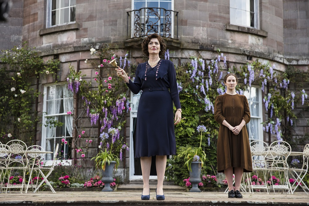 Anna Chancellor and Morven Christie in Ordeal by Innocence