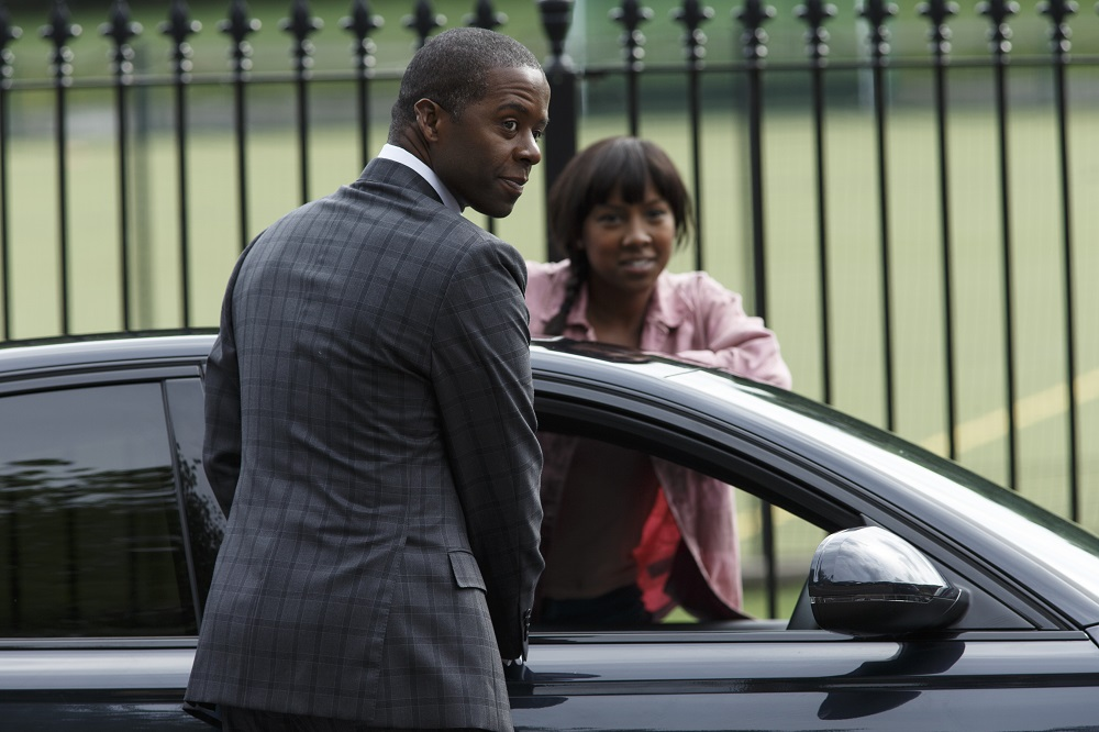 Adrian Lester and Jade Anouka in Trauma