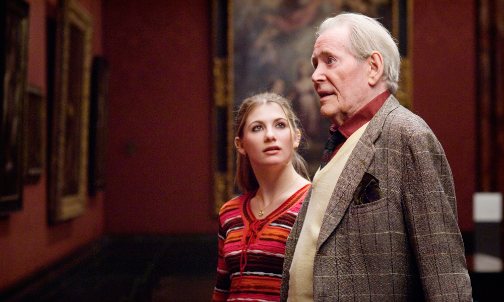 Jodie Whittaker and Peter O'Toole in Venus