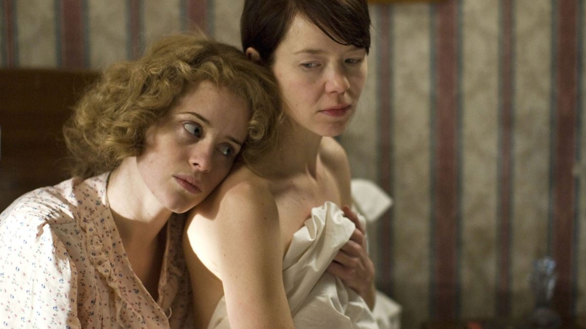 Claire Foy and Anna Maxwell Martin in The Night Watch