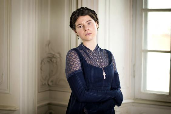 Jessie Buckley in War and Peace