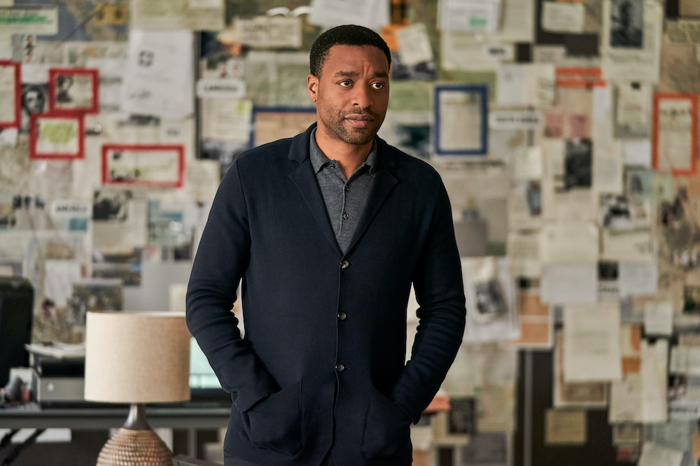 Chiwetel Ejiofor as Copley, the group's sometime antagonist