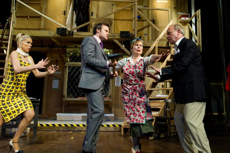 Noises off old vic the arts desk for Farcical plays