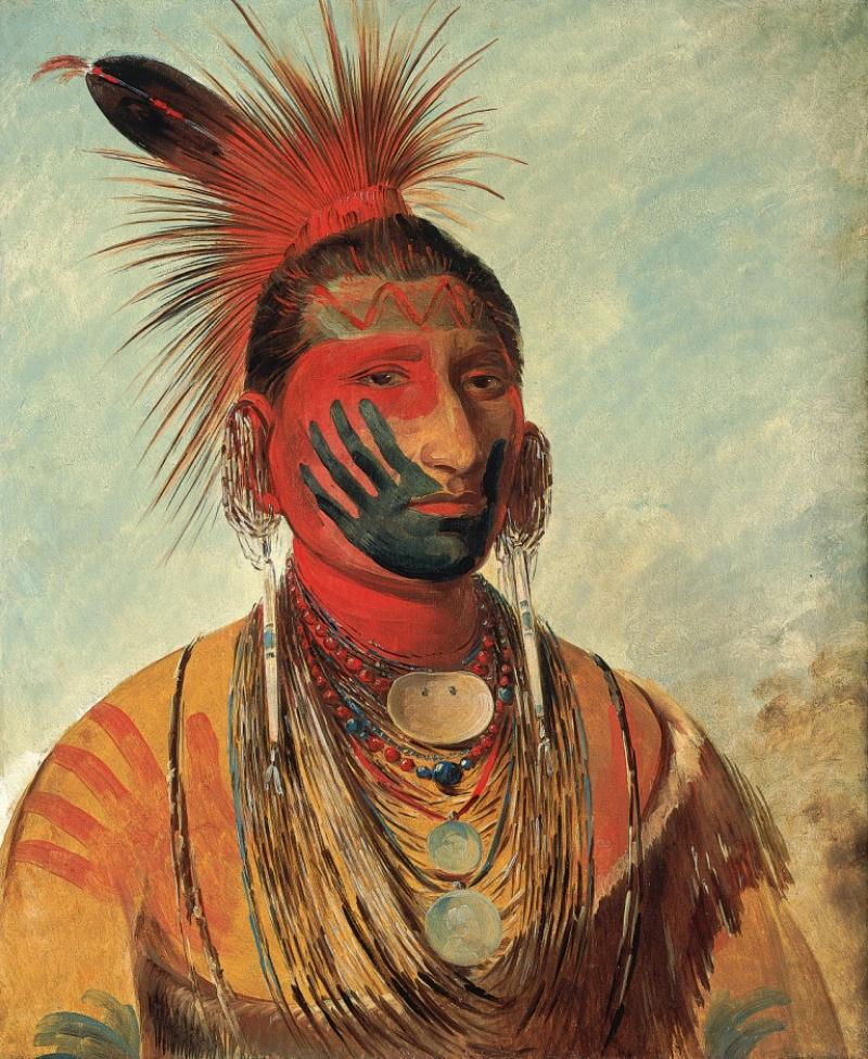 george catlin american indian portraits national