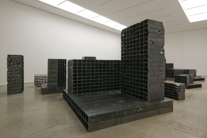 mona hatoum  bunker  white cube mason u0026 39 s yard